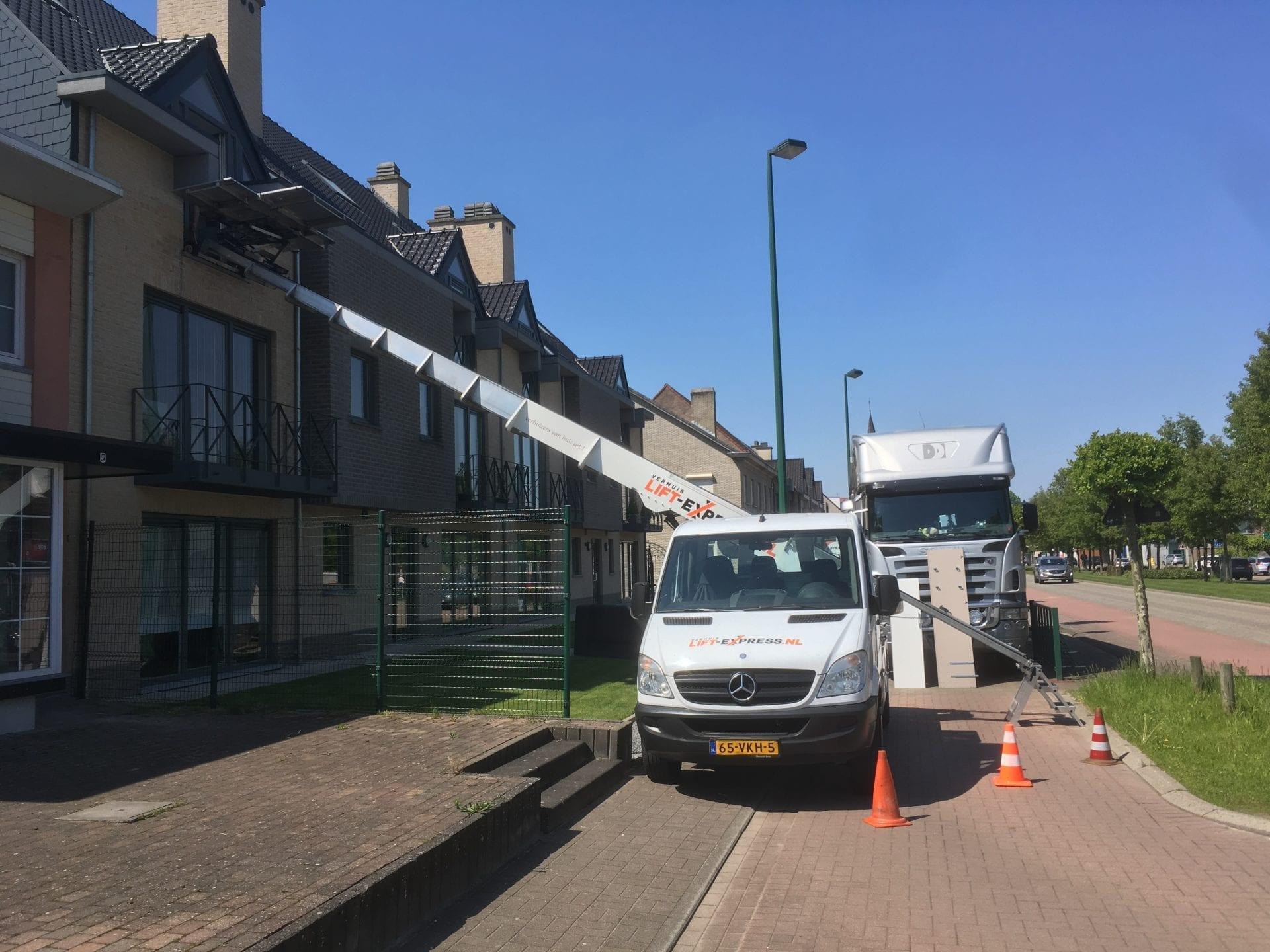 Verhuislift Meeuwen-Gruitrode