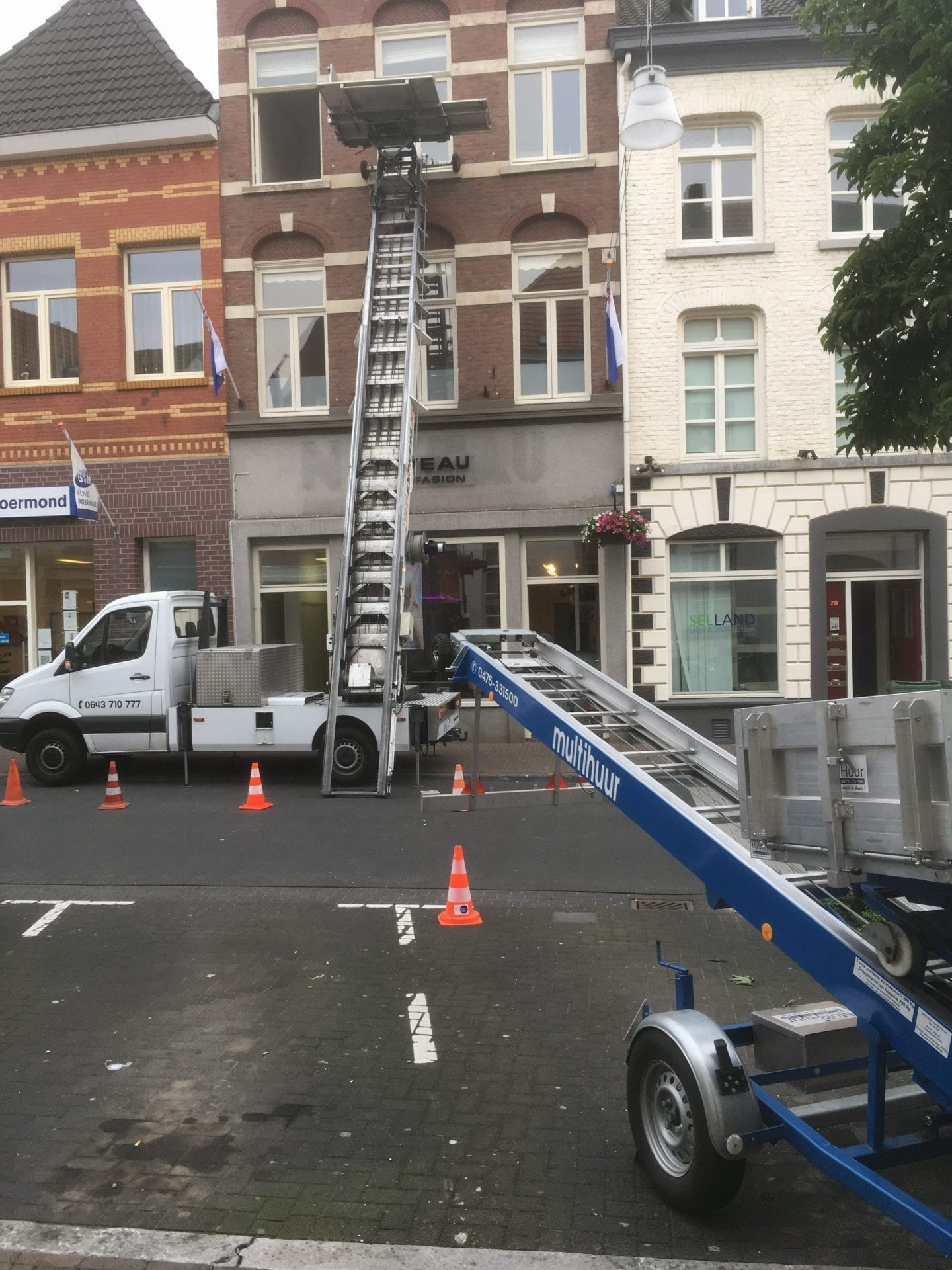 Verhuislift Neerstraat Roermond