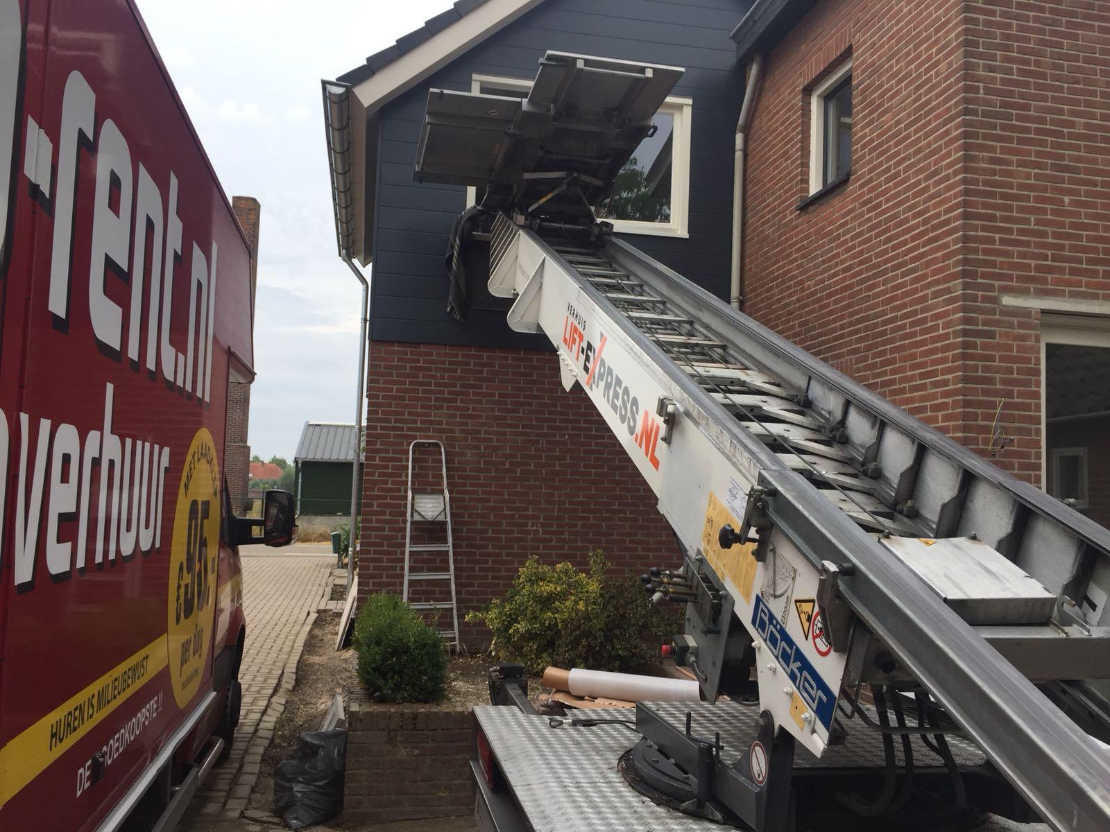 Verhuislift Venlo Huiskensstraat