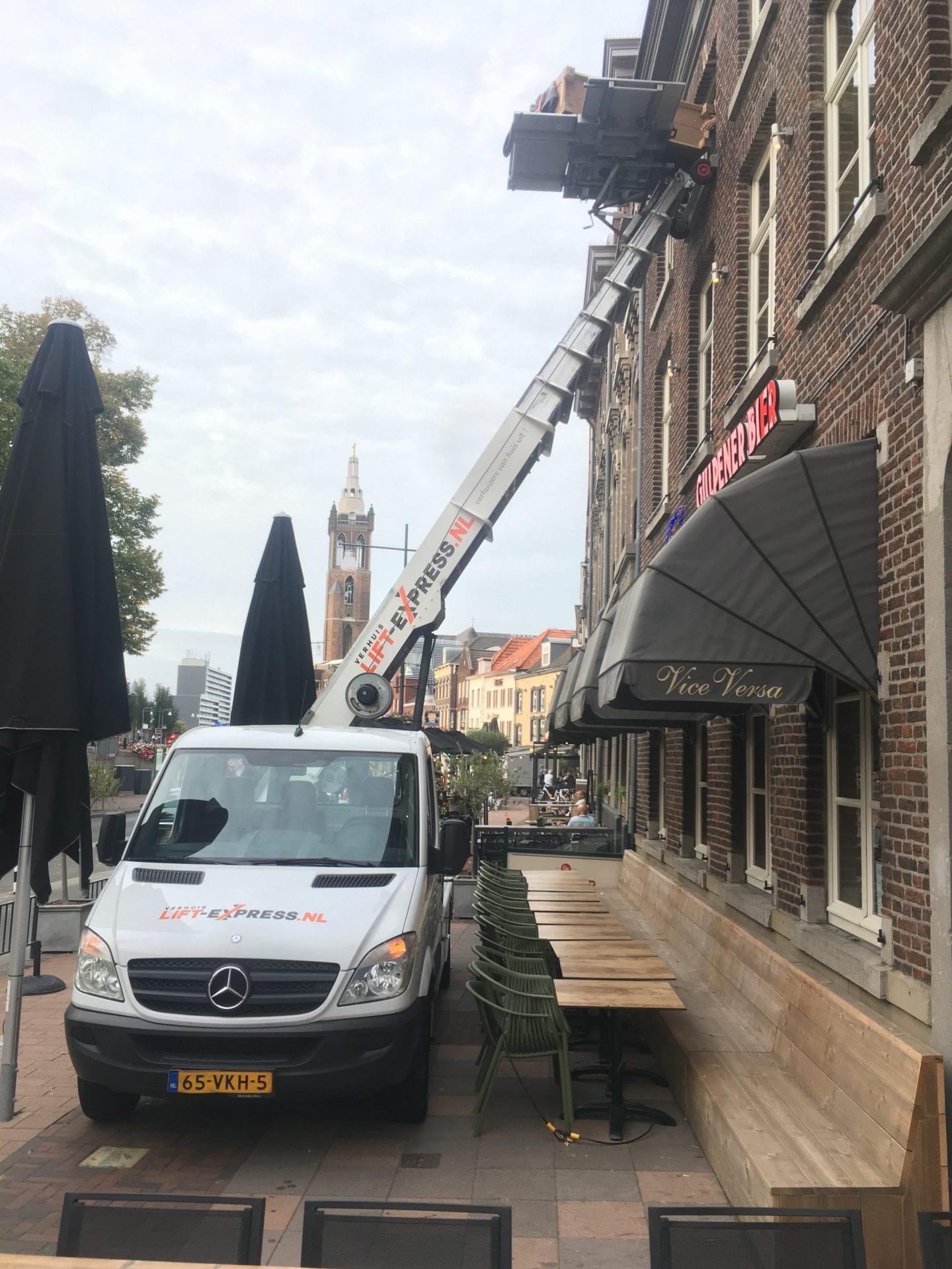 Verhuislift Roermond Roersingel